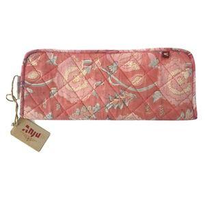 Anju Flat Iron Sleeve Heat Protection Pink Floral
